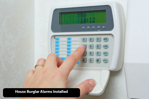 Burglar Alarm Systems Installation in Glasgow, Paisley, Scotland